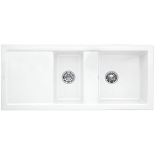Villeroy and Boch Subway 80 CeramicPlus Ceramic Kitchen Sink